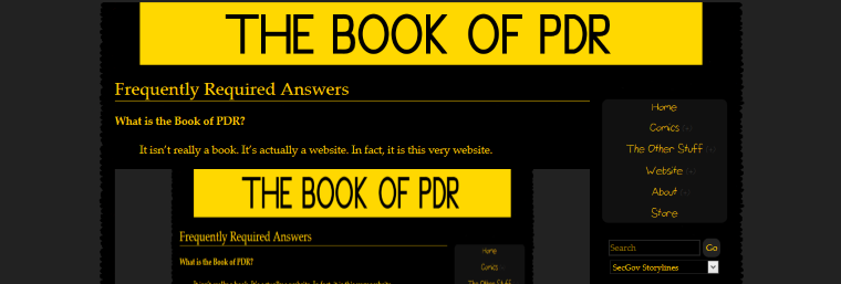 The Book of PDR